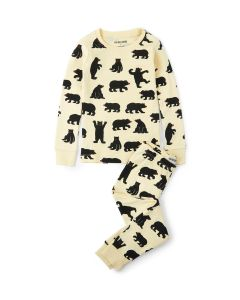 Hatley Pyjamas | Black Bears | Organic Cotton
