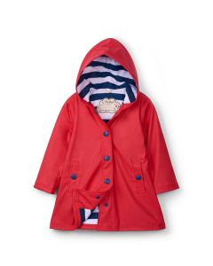 Hatley Raincoat | Splash Jacket | Red & Navy