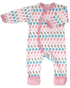 Organics for Kids | Acorn Romper | Multi Coloured