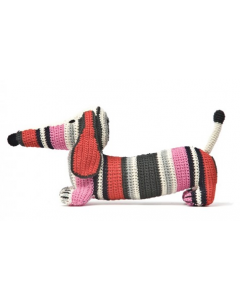 anne-claire petit | Crochet Dachshund | Pink