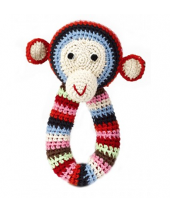 anne-claire petit - Crochet Chimp Ring