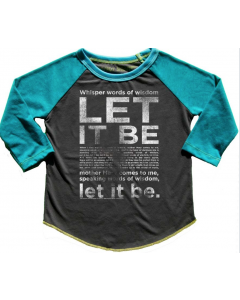 ROWDY SPROUT | Beatles Let it Be | Raglan TEE
