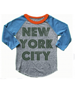ROWDY SPROUT Raglan Tee | NYC