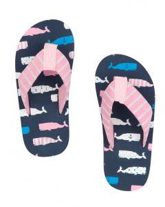 Hatley Beach - Flip Flop - Girly Whales
