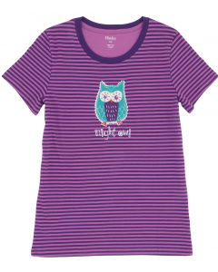 Hatley | Women's Pyjama Tee | Night Owl