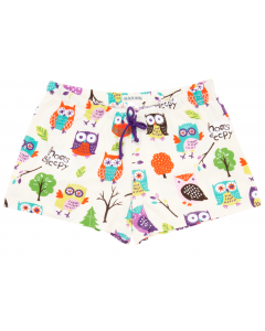 Womens PJ Boxers - HATLEY - Party Owls