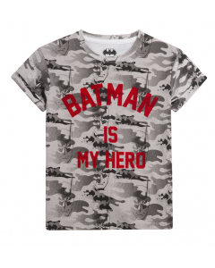 Little Eleven Paris - BATMAN IS MY HERO - Short Sleeve Tee