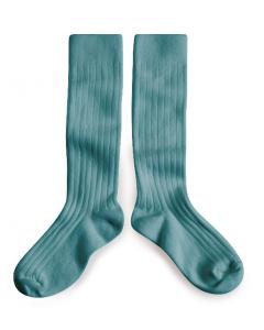 Collegien Socks - Knee High Socks - Sea Spray