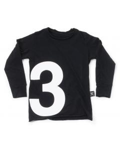nununu - NUMBER TEE - Black
