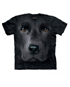 The Mountain | Big Face Tee | Black Labrador