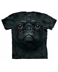 Mountain - Big Face Tee - Black Pug