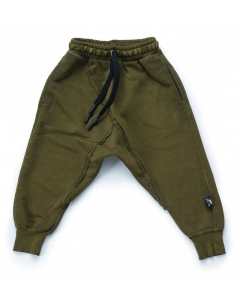 nununu - RAW PANTS - Rusty Green