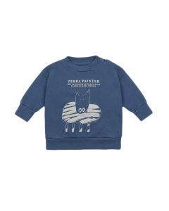 Bobo Choses | Zebra Painter Sweatshirt
