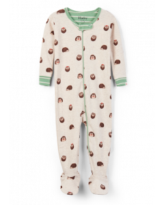 Hatley Footed Coverall | Huggable Hedgehogs | Organic Cotton