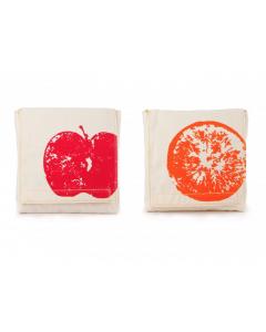FLUF | Snack Packs x 2 | Apples & Oranges