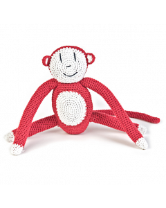 anne-claire petit - Crochet Organic Cotton Monkey