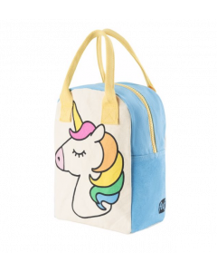 FLUF | zipper lunch bag | unicorn