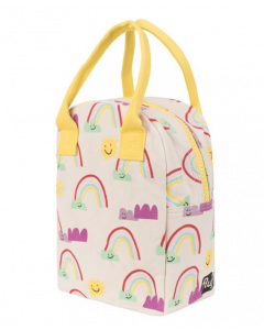 FLUF | ZIPPER LUNCH BAG | RAINBOWS