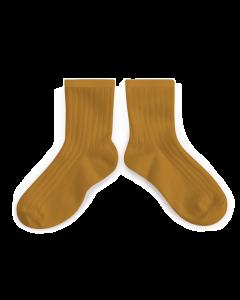 Collegien Ankle Socks | Moutarde
