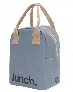 FLUF Blue Lunch Bag with Zipper