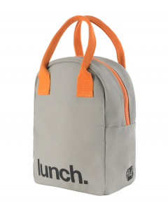 FLUF Pumpkin Lunch Bag with Zipper