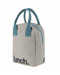 FLUF Midnight Blue Lunch Bag with Zipper
