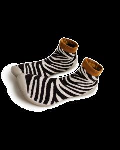 Collegien Slippers for Mum   Zebra