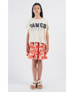 Bobo Choses | All Over Hearts Ruffles Skirt