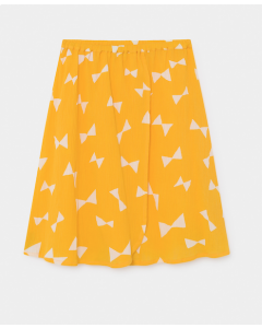 Bobo Choses | All Over Bow Wrap Midi Skirt | Cotton
