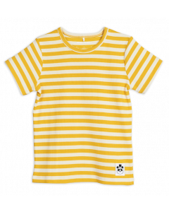 Mini Rodini | Short Sleeve Tee | Stripe Rib