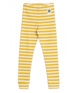 Mini Rodini | Organic Stripe Rib Leggings