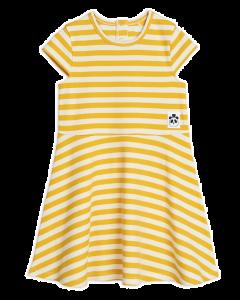 Mini Rodini | Stripe Rib Short Sleeve Dress