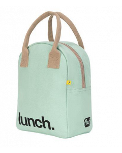 FLUF MINT Lunch Bag with Zipper
