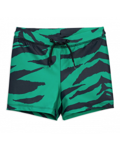 Mini Rodini Tiger Swimpants | Green