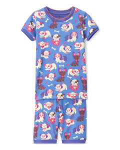 Hatley Pyjamas | Puppy Love | 100% Organic Cotton