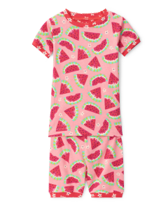 Hatley Pyjamas | Watermelon | 100% Organic Cotton