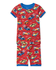 Hatley Pyjamas | Hot Rods | 100% Organic Cotton