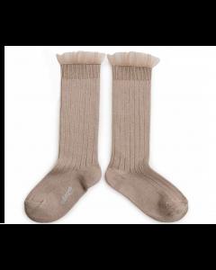 Collegien Socks Avec Tulle | Petite Taupe