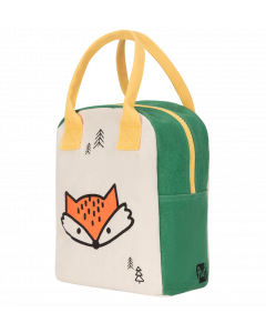 Fluf Lunch Bag | Zipper | Fox
