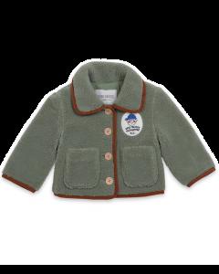 Bobo Choses   Boy Patch Sheepskin Jacket