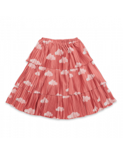 Bobo Choses | Clouds All Over Woven Skirt