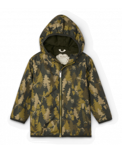 Hatley Raincoat | Forest Camo in Microfibre