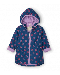 Hatley Microfibre Raincoat | Rainbow Party