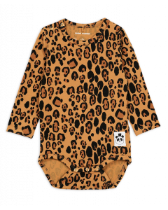 Mini Rodini | Leopard Long Sleeve Body
