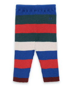 Bobo Choses | Multicolour Stripes | Knitted Leggings