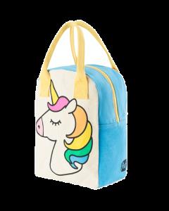 FLUF | zipper lunch bag | unicorn