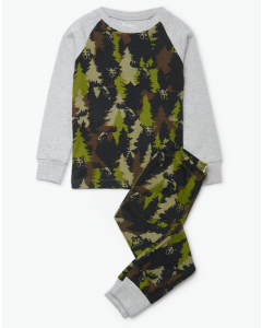 Hatley Pyjamas | Forest Camo | Organic Cotton