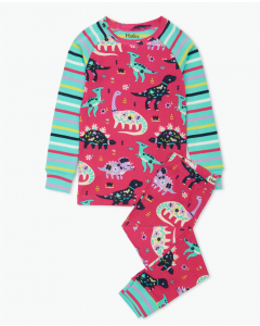Hatley Pyjamas | Floral Dino | Organic Cotton