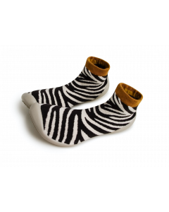 Collegien Slippers | Zebra