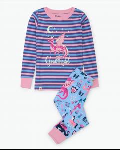 Hatley Pyjamas | Enchanted Forest  Applique| Organic Cotton